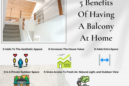 5 Benefits Of Having A Balcony At Home Infographic
