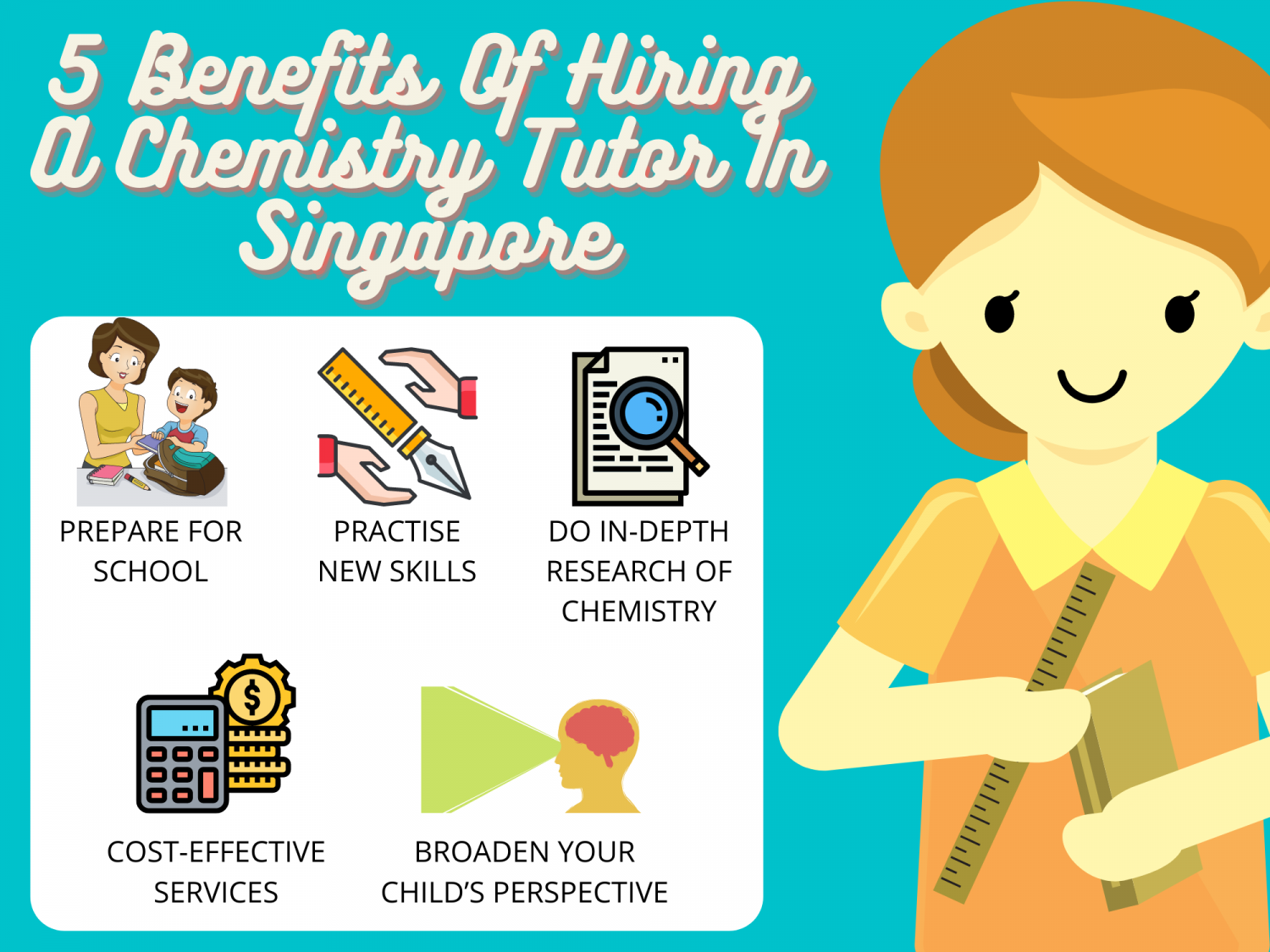 5 Benefits Of Hiring A Chemistry Tutor In Singapore Infographic