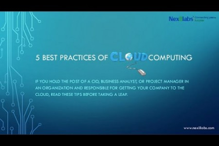 5 Best Practices of Cloud Computing Infographic