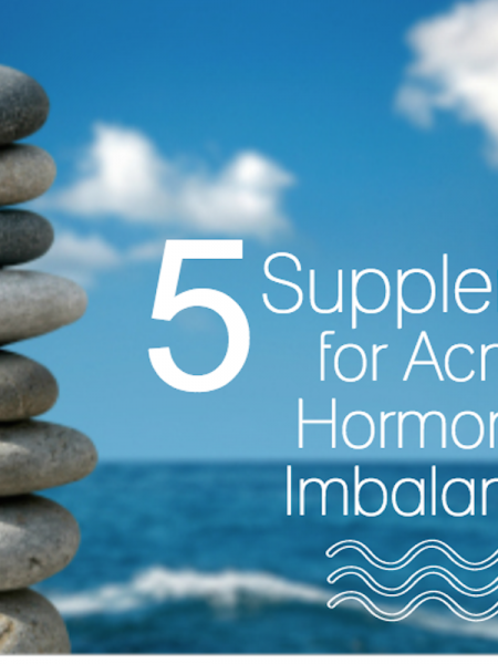 5 Best Supplements for Acne Hormonal Imbalance Infographic