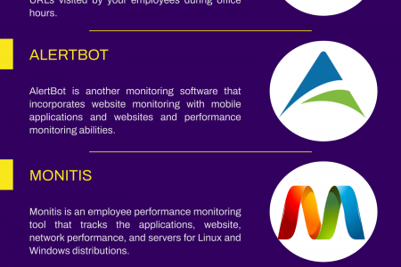 5 Best Website Monitor Software Infographic
