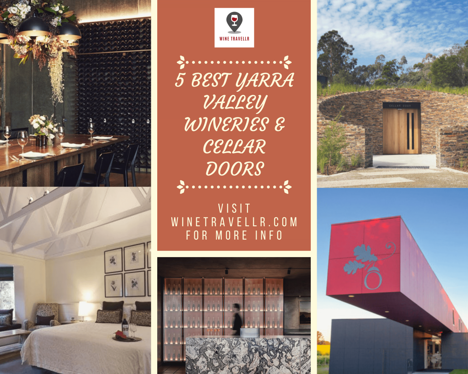 5 Best Yarra Valley Wineries & Cellar Doors  Infographic
