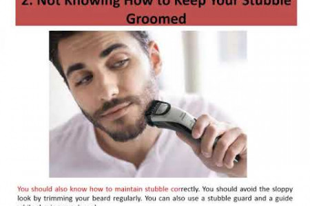 5 Biggest Grooming Mistakes Men Make Infographic