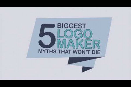 5 Biggest Logo Maker Myths That Won't Die Infographic
