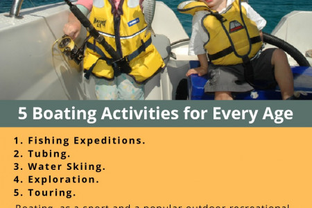 5 Boating Activities for Every Age Infographic