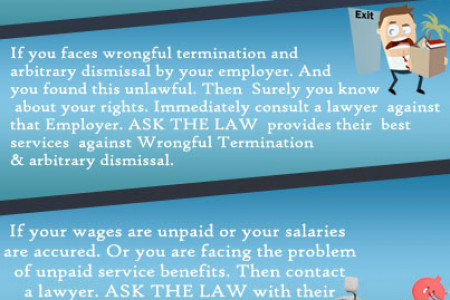5 Circumstances when you need a labour lawyer Infographic