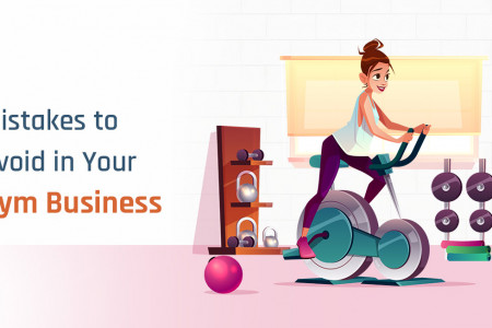 5 Common Mistakes to Avoid in Your Fitness Business Infographic