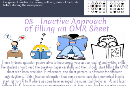 5 Common Mistakes While Filling an OMR Sheet Infographic