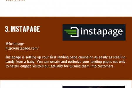 5 companies that create landing pages that inspire you to buy Infographic