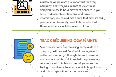 5 Compelling Reasons Why Your Company Needs Complaint Management Software Infographic