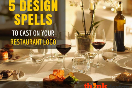 5 Design Spells to Cast on Your Restaurant Logo Infographic