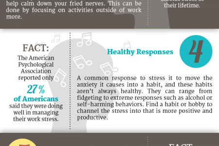 5 Easy Steps to Manage Stress at Work Infographic