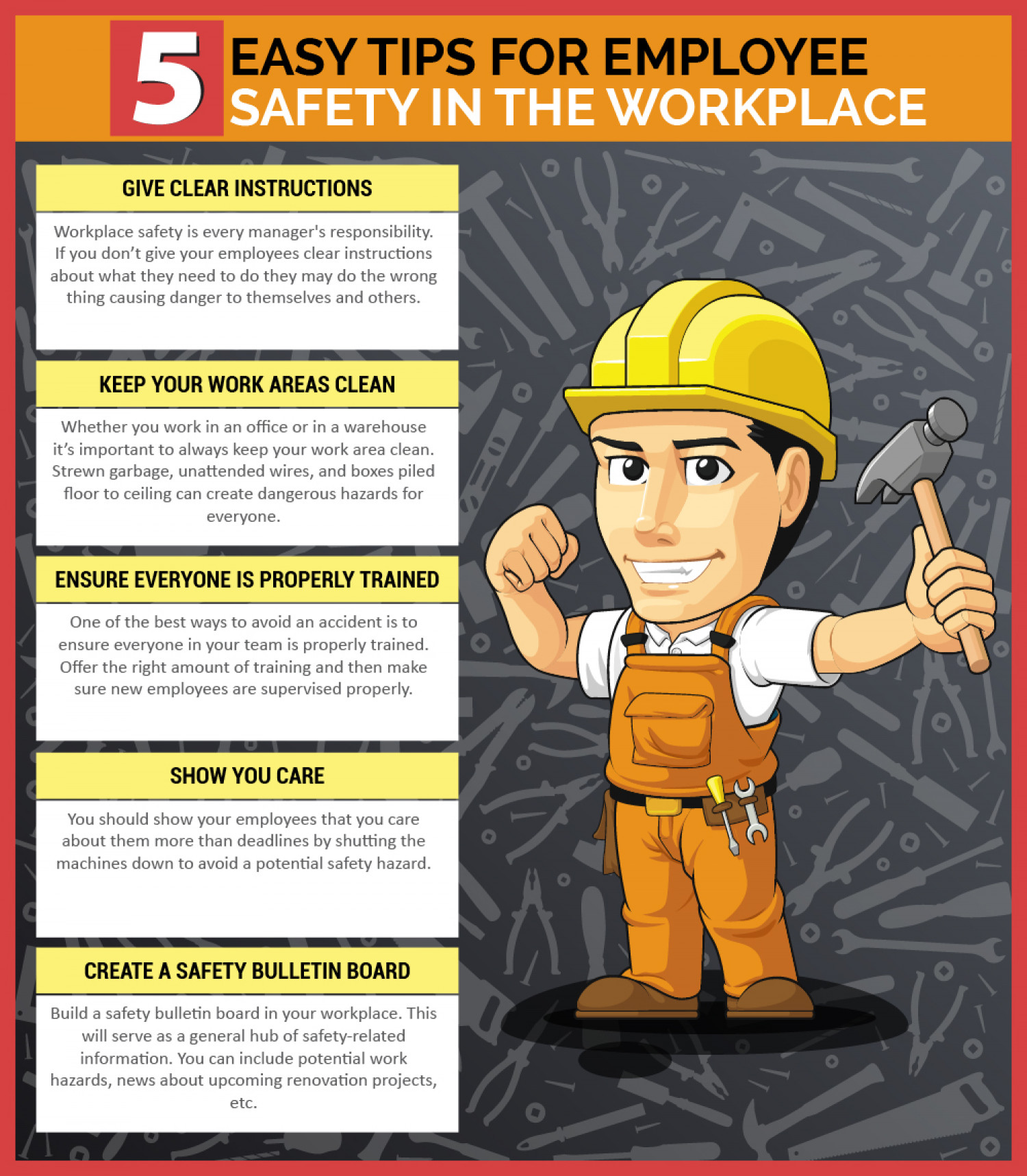 the aim of a workplace safety campaign Here is a list of the most catchy safety slogans for the workplace 10 fingers, 10 toes 2 eyes 1 nosesafety counts 10 fingers 10 toes, if you are not safe who knows.