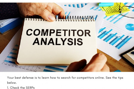5 Easy Ways to Find Competitors Online Infographic