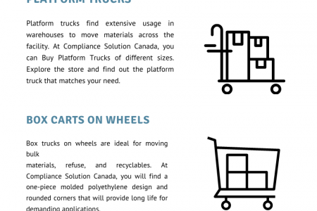 5 Essential Industrial Equipments Infographic