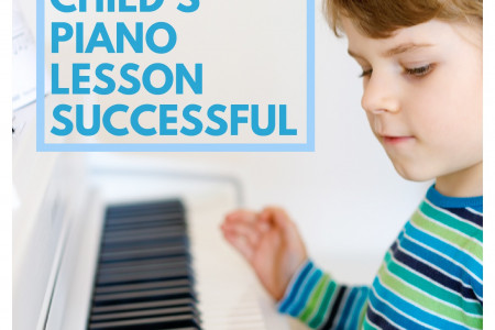 5 Factors That Make Your Child's Piano Lesson Successful Infographic