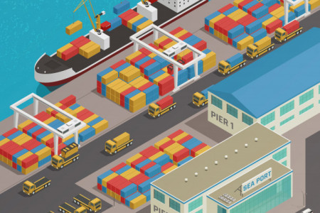 5 Factors to be considered while selecting logistics service provider Infographic
