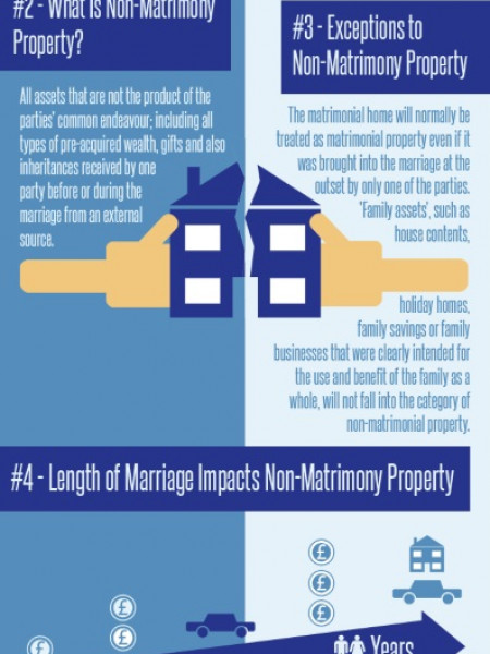 5 Facts to Splitting Divorce Assets Fairly  Infographic