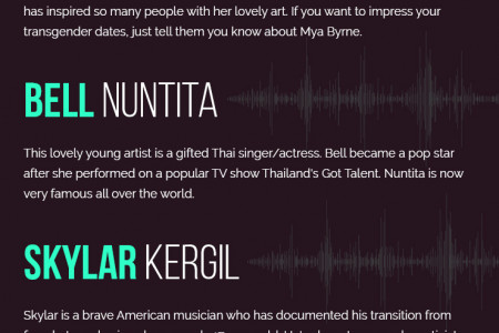 5 Famous Transgender Singers And Musicians Infographic