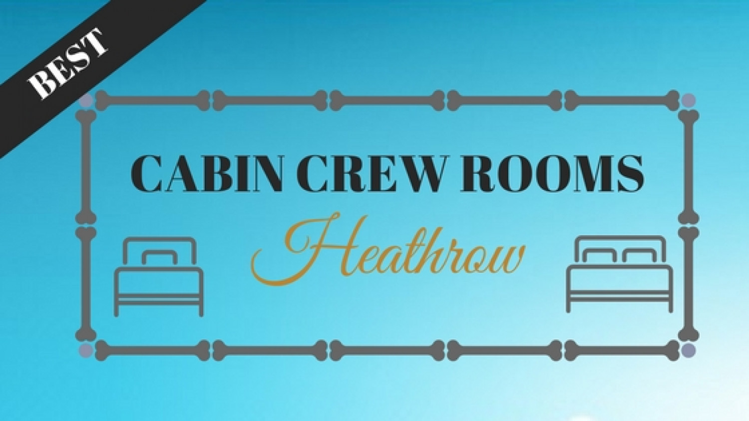 5 Features That Make Some Cabin Crew Houses Better Than The Others  Infographic