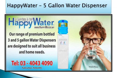 5 Gallon Water Dispenser Infographic
