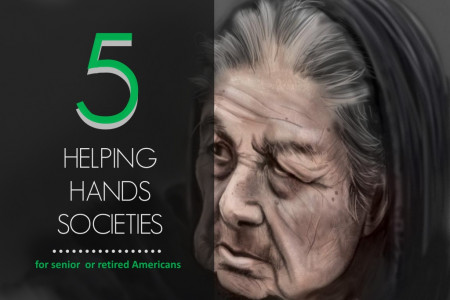 5 helping hands organizations for senior peoples Infographic