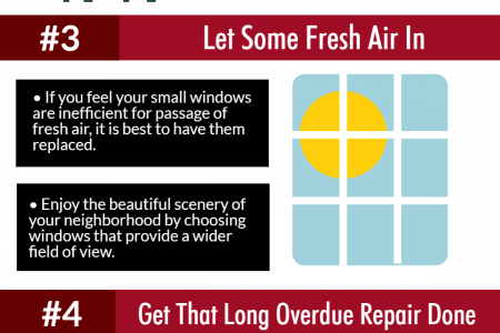 5 Home Improvement Tips Infographic