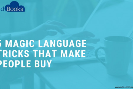 5 Magic Language Tricks that Make People Buy Infographic