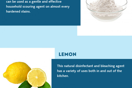 5 Natural Household Cleansers You Should Try Infographic