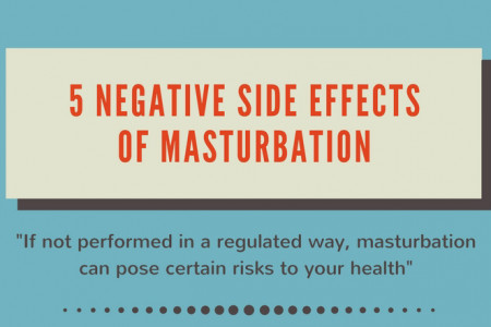 5 negative side effects of masturbation Infographic