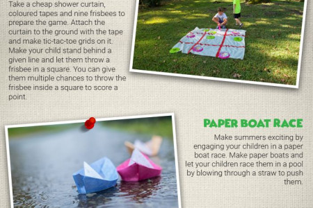 5 Outdoor Games for Your Children - [Infographic] Infographic