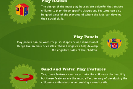 5 Playground Features for Kids Under 5 Infographic
