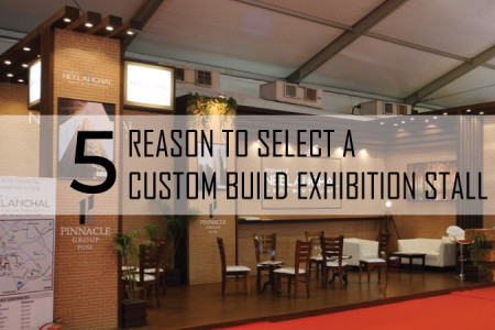 5 REASON TO SELECT A CUSTOM BUILD EXHIBITION STALL Infographic