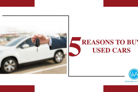 5 Reasons to Buy Used Cars Infographic