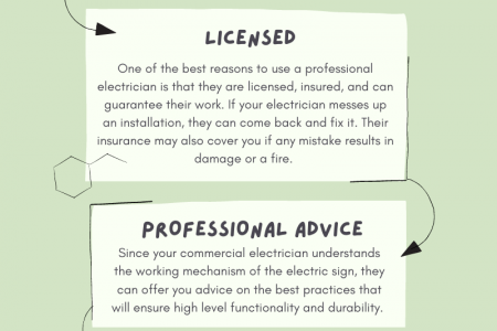 5 Reasons to Hire a Commercial Electrician Infographic