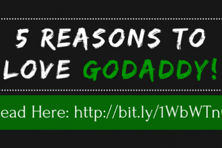 5 Reasons to LOVE GoDaddy! Infographic