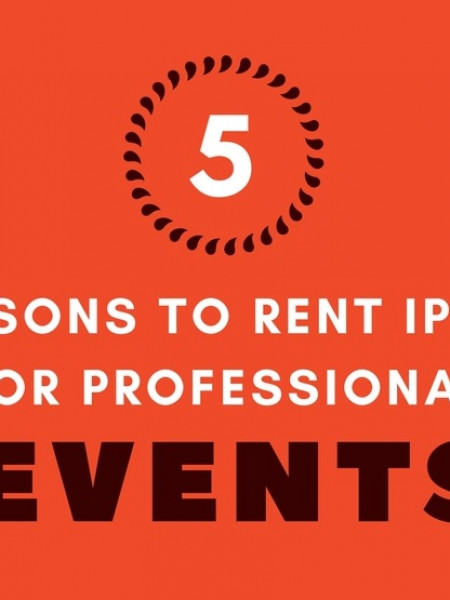 5 Reasons to Rent iPads For Professional Events Infographic