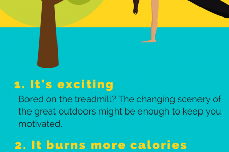 5 Reasons To Take Your Workout Outdoors Infographic