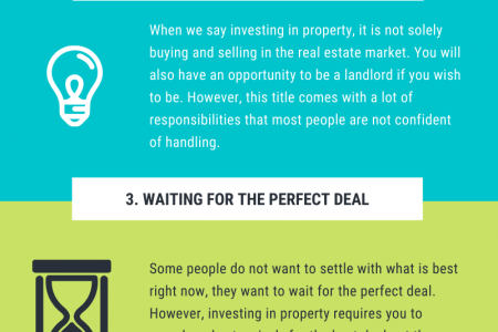 5 Reasons Why People Don't Invest in Property Infographic