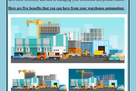 5 Reasons Why You Should Automate Your Warehouse Infographic