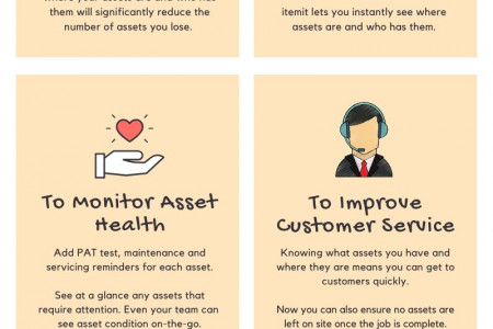 5 Reasons Why you should start Tracking Assets Infographic