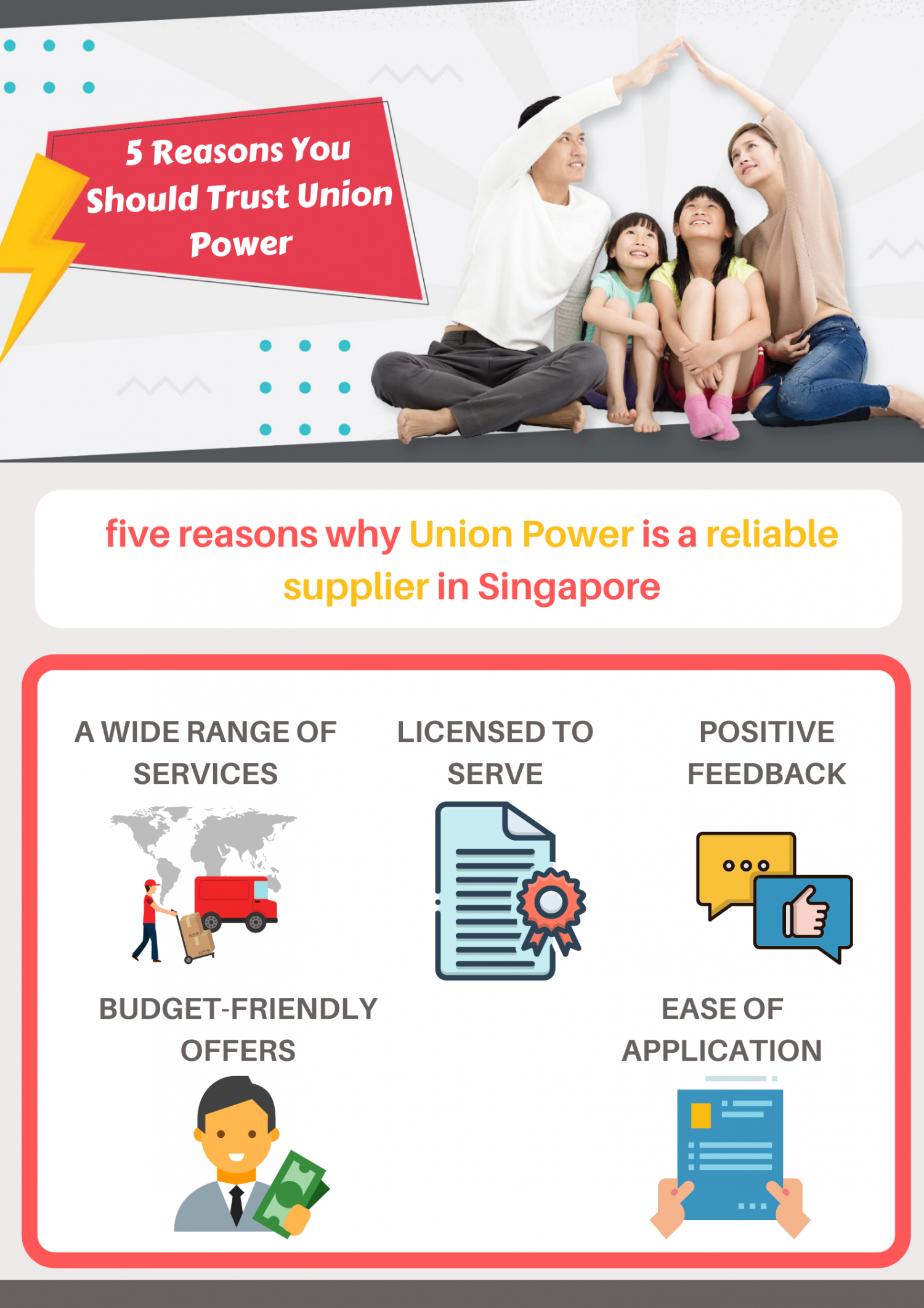 5 Reasons You Should Trust Union Power Infographic