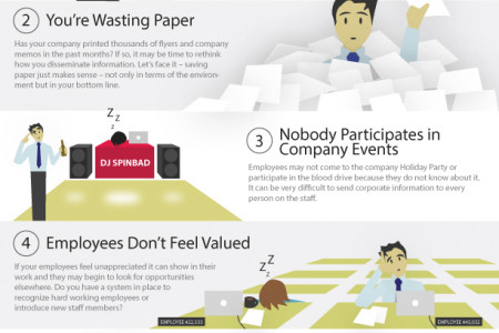 5 Reasons Your Corporate Communication is Failing Infographic