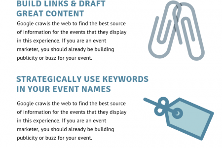 5 SEO TIPS TO BOOST VISIBILITY AND INCREASE EVENT ATTENDANCE Infographic