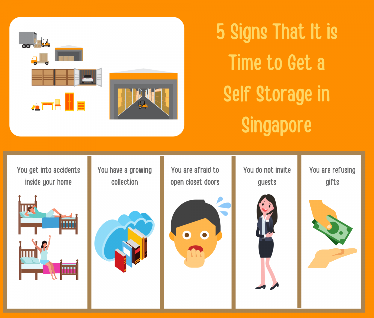 5 Signs That It is Time to Get a Self Storage in Singapore Infographic