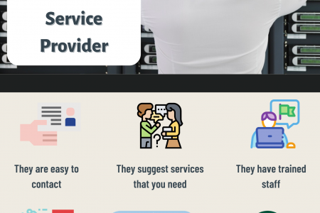 5 Signs that You are with a Reliable IT Service Provider Infographic