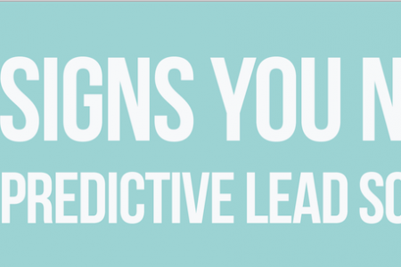 5 Signs You Need Predictive Lead Scoring Infographic
