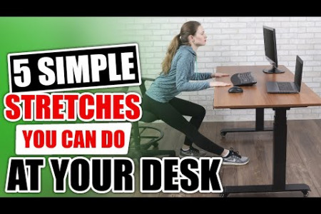 5 Simрlе Strеtсhеѕ Yоu Cаn Dо at Your Desk Infographic