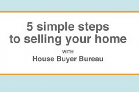 5 simple steps to selling your home Infographic