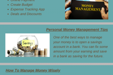 5 Simple Ways to Manage Your Money Better Infographic